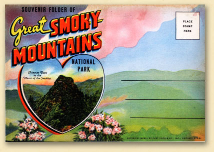 Early postcard from the Smokies