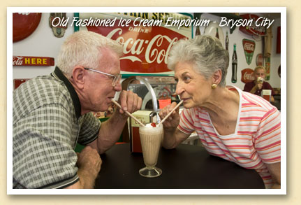 Bryson City ice cream shop serves the old favorites
