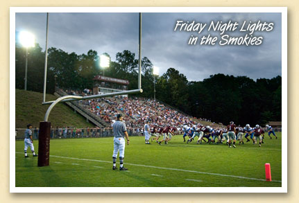 Swain County High School football stadium, Bryson City, NC