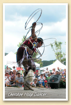 hoop-dancer